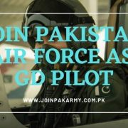 Join PAF as GD Pilot