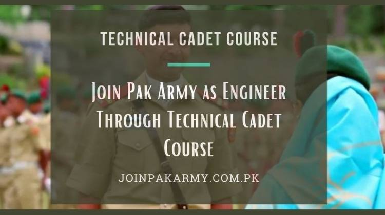 Technical Cadet Course