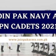 Join Pak Navy as PN Cadets