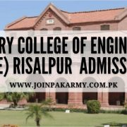 military college of engineering risalpur admissions