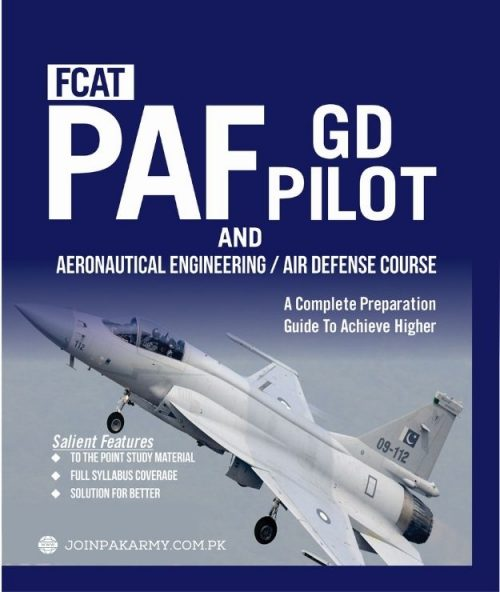 PAF GD Pilot Test Preparation Book