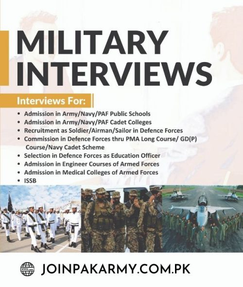Pakistan Military Interviews Guide