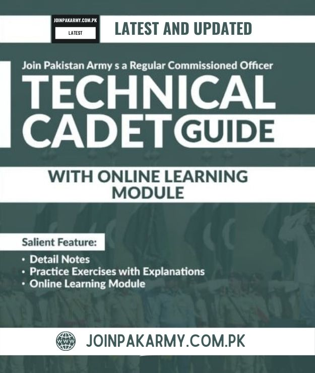 Technical Cadet Course Test Preparation Guide Book