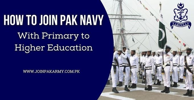 How to Join Pak Navy With Primary to Higher Education Navy Ranks Detailed Information
