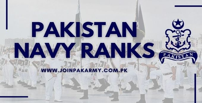 Pak Navy Ranks (Everything You Need to Know)
