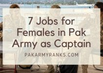 Latest Jobs for Females in Pak Army as Captain in 2021