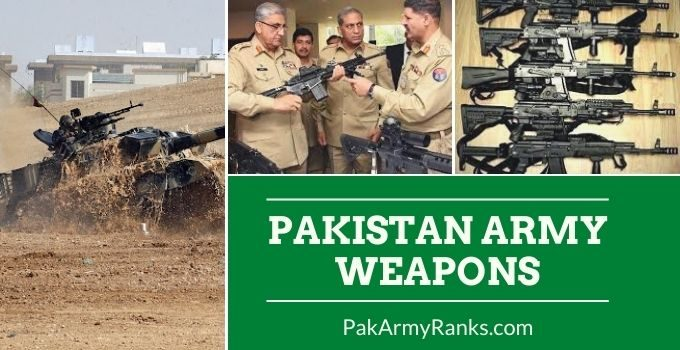 Pakistan Army Weapons [Equipment of the Pakistan Army]